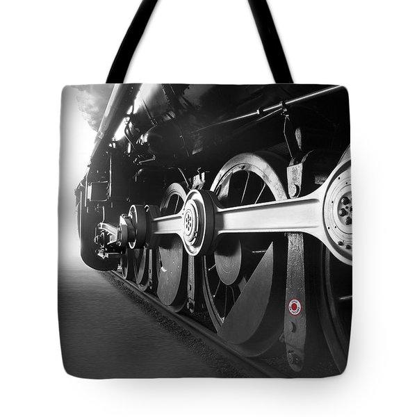 Big Wheels Tote Bag