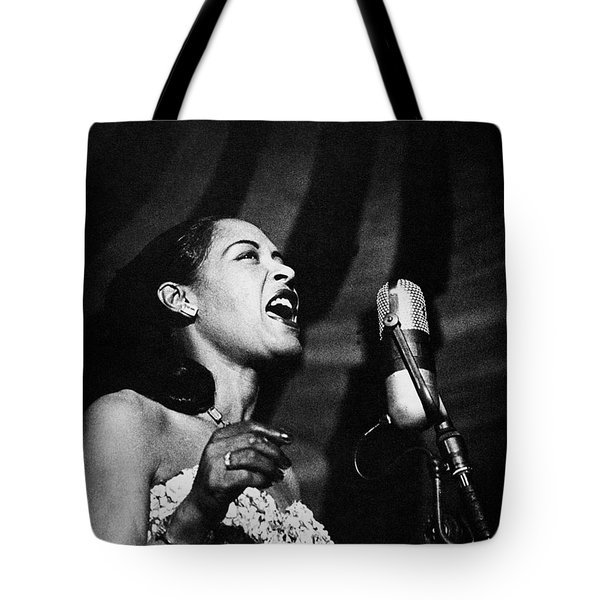 Billie Holiday (1915-1959) Tote Bag by Granger