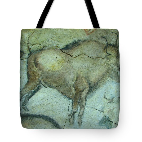 Bison Buffalo Tote Bag by Unknown