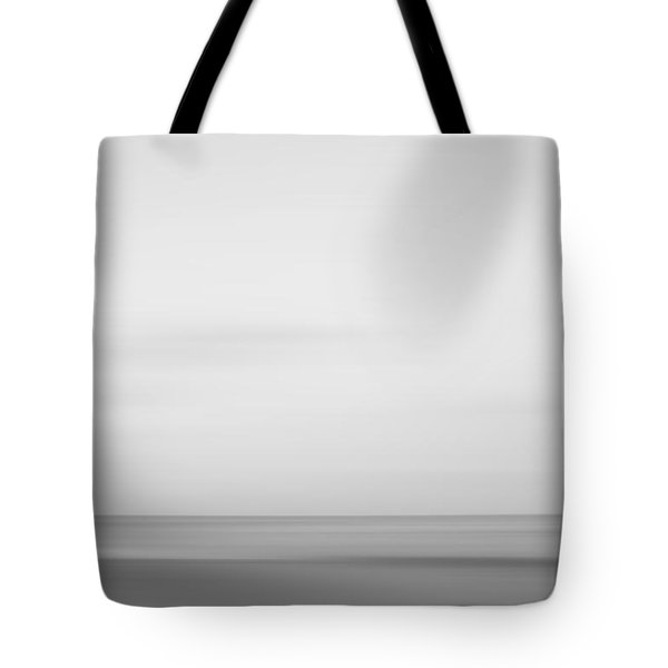 Black And White Abstract Seascape No. 01 Tote Bag