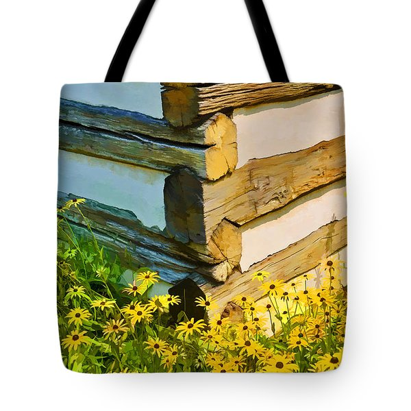 Tote Bag featuring the photograph Black-eyed Susans by Dana Sohr