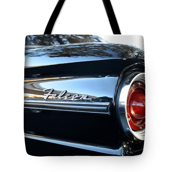 Black Falcon Tote Bag by David Lee Thompson