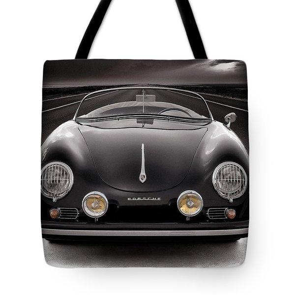 Black Porsche Speedster Tote Bag