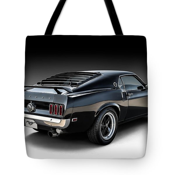 Black Stallion Tote Bag