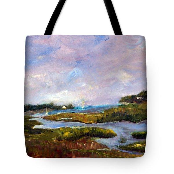 Blackfish Creek  Tote Bag