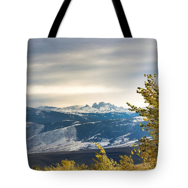 Blacktooth Tote Bag