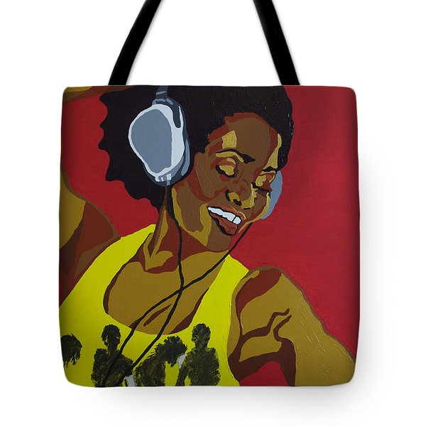 Blame It On The Boogie Tote Bag