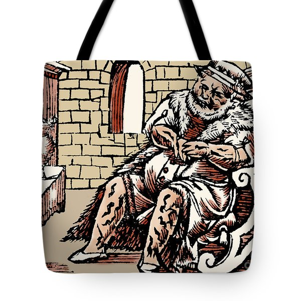 Bloodletting For Weight Reduction Tote Bag by Science Source