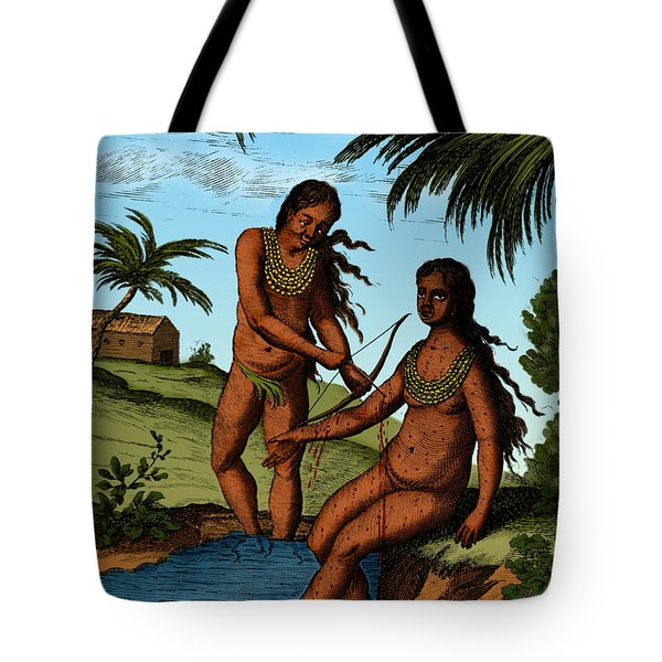 Bloodletting Native Central American Tote Bag by Science Source