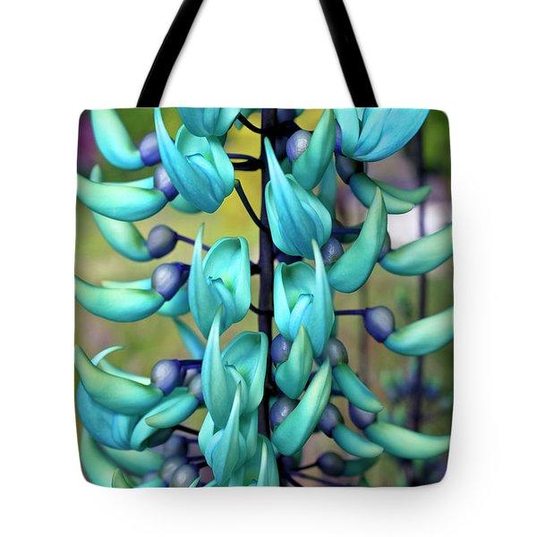 Blue Jade Plant  Hawaii, United States Tote Bag