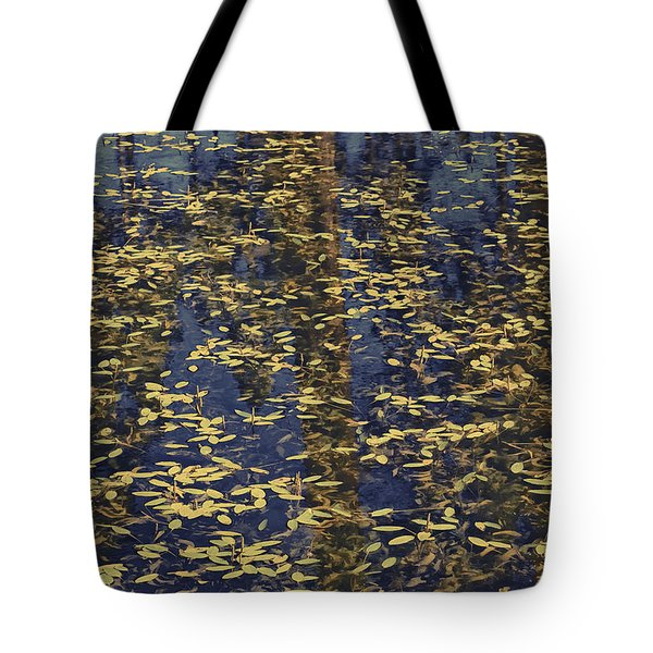 Blue Lake Reflections Tote Bag