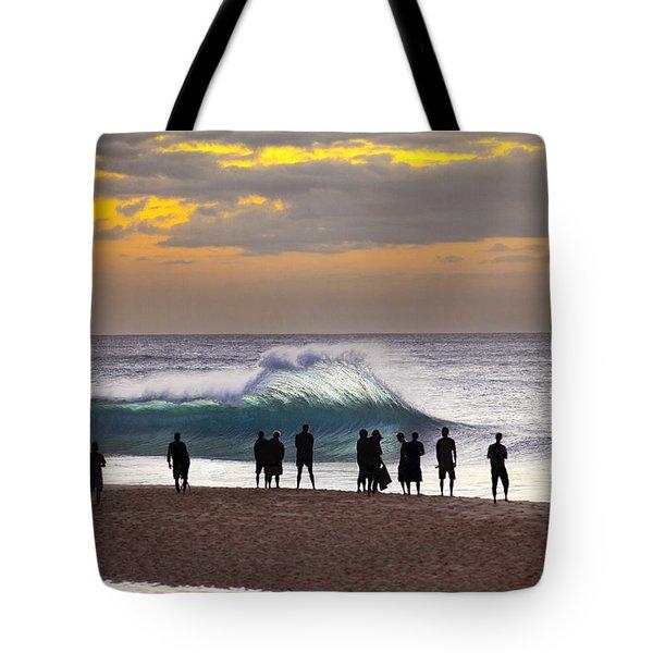 Blue Marlin Tote Bag by Sean Davey