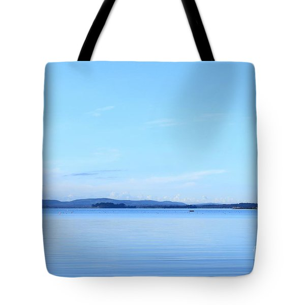 Blue Mood Tote Bag by Katy Mei