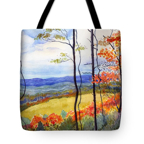 Blue Ridge Mountains Of West Virginia Tote Bag