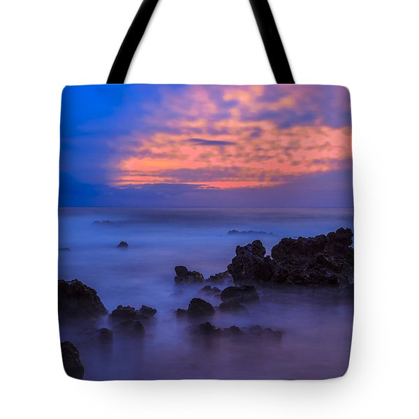Blue Sunrise 1 Tote Bag by Leigh Anne Meeks