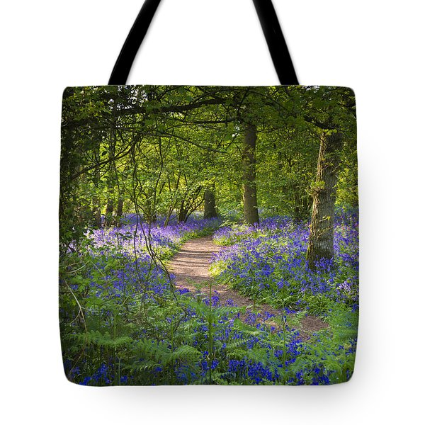 Bluebell Woods Walk Tote Bag