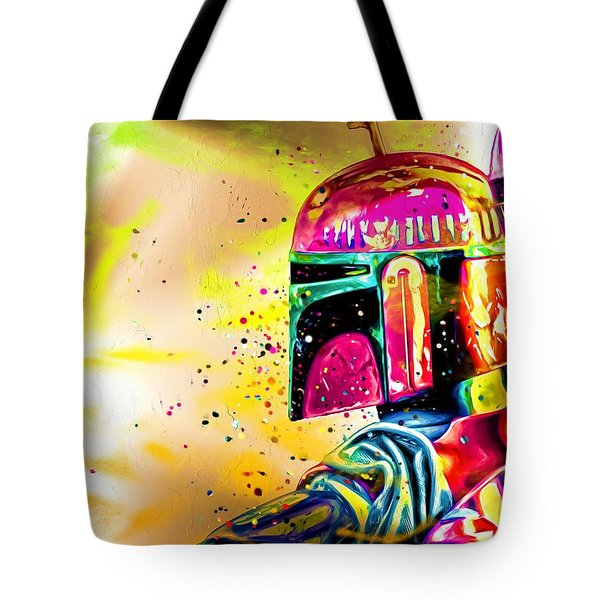 Boba Fett Star Wars Tote Bag