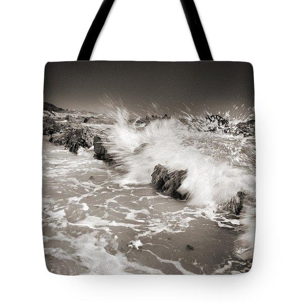 Bolonia Waves Tote Bag by Guido Montanes Castillo