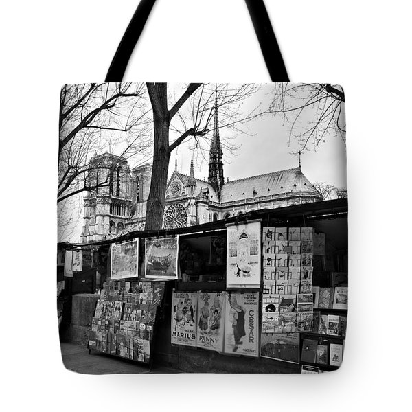 Book Sellers By The Seine / Paris Tote Bag