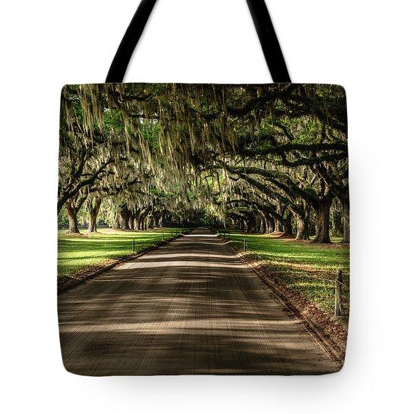 Boone Plantation Road Tote Bag