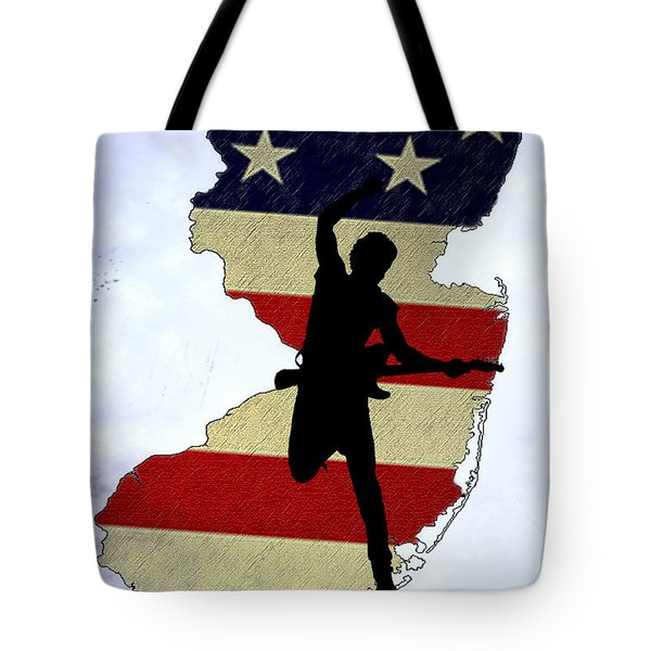 Born In New Jersey Tote Bag by Bill Cannon