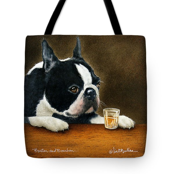Boston And Bourbon... Tote Bag