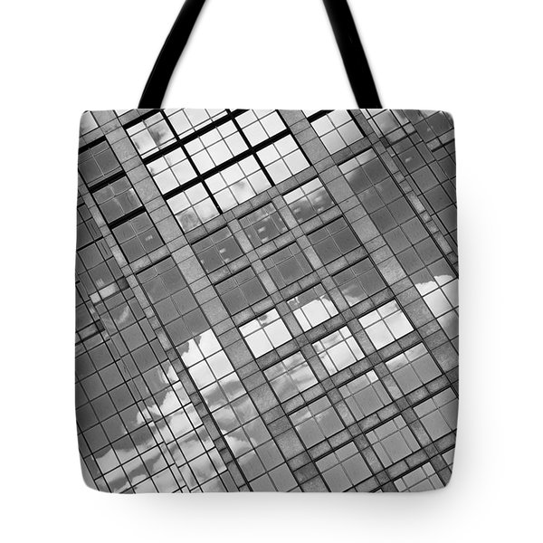 Tote Bag featuring the photograph Boston Building Abstract by Marianne Campolongo