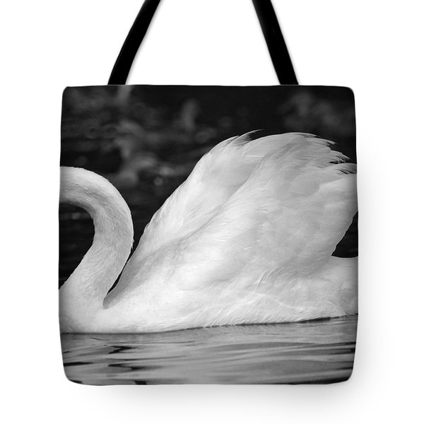 Boston Public Garden Swan Tote Bag