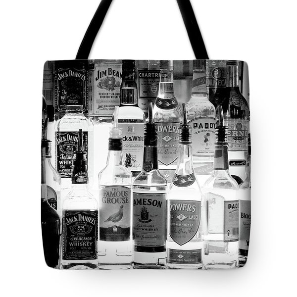 Bottles Of Liquor, De Luans Bar Tote Bag