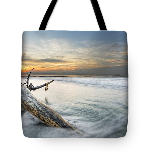Bough In Ocean Tote Bag