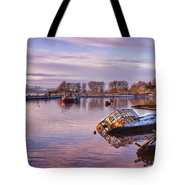 Bowling Harbour Panorama 02 Tote Bag