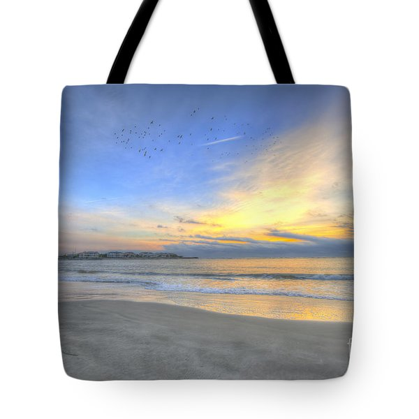 Breach Inlet Sunrise Tote Bag