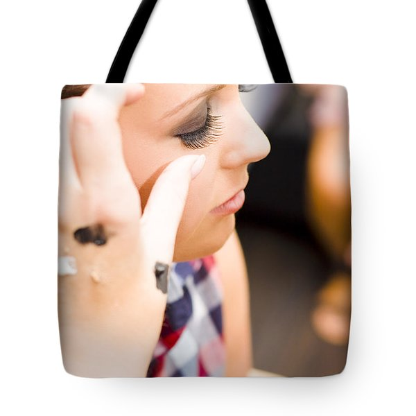 Bridal Eyelashes Tote Bag