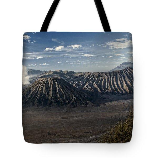 Bromo Mountain Tote Bag