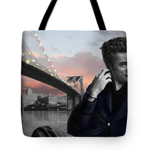 Brooklyn Bridge Tote Bag by Chris Consani