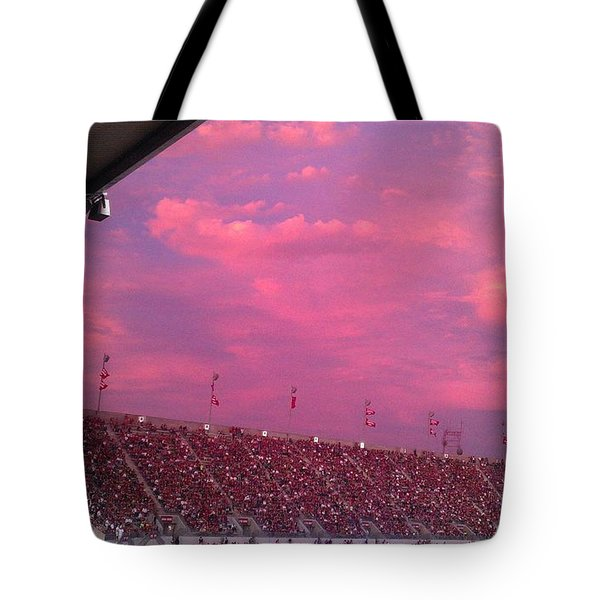 Bryant-denny Painted Sky Tote Bag