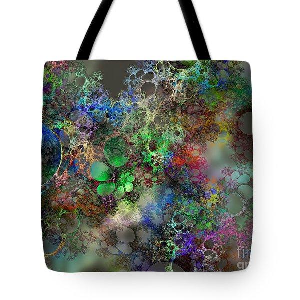 Bubbles Tote Bag by Klara Acel