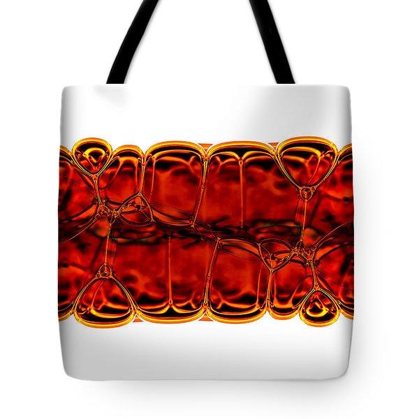 Bubbles Tote Bag by Michal Boubin