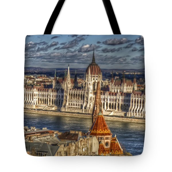 Buda Parliament  Tote Bag