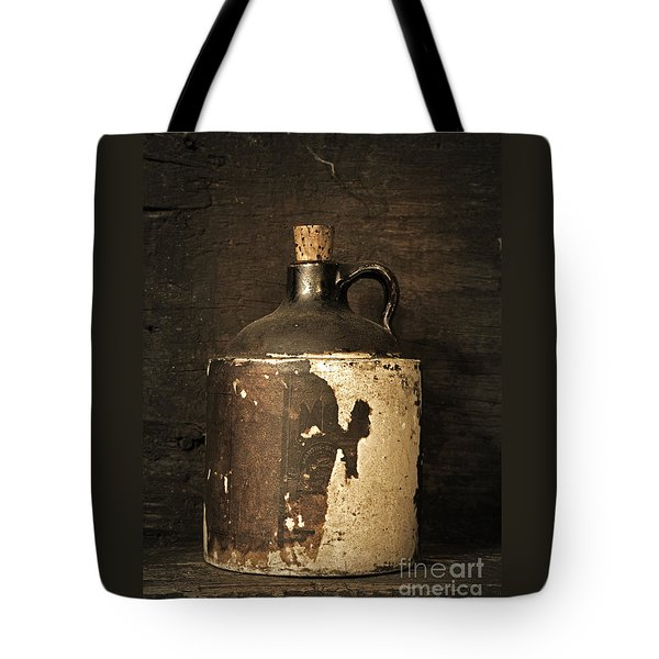 Buddy Bear's Little Brown Jug Tote Bag