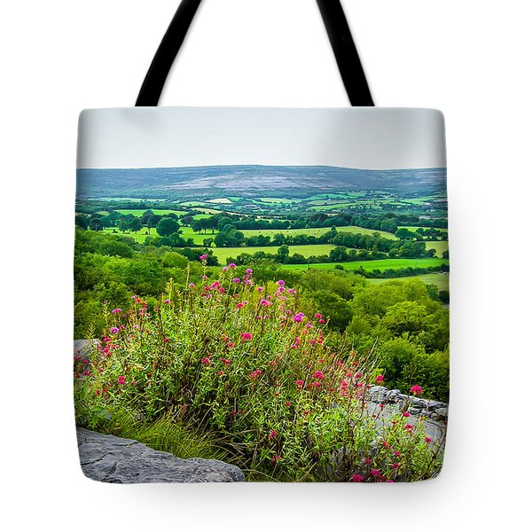 Burren National Park's Lovely Vistas Tote Bag