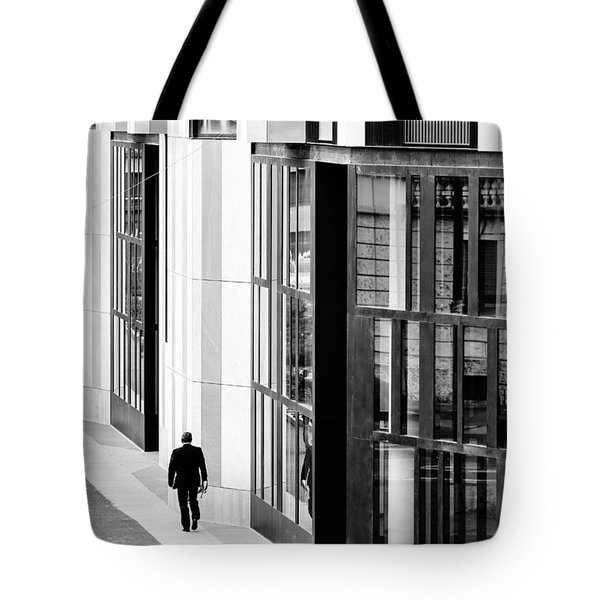 Business Man In Milan Tote Bag