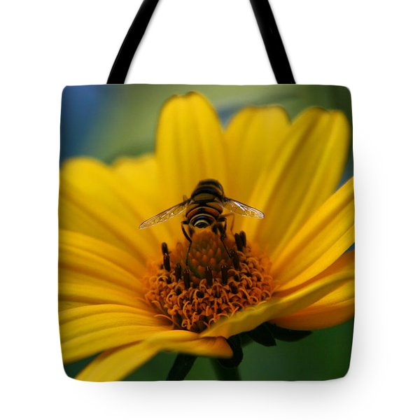Busy Bee Tote Bag by Denyse Duhaime