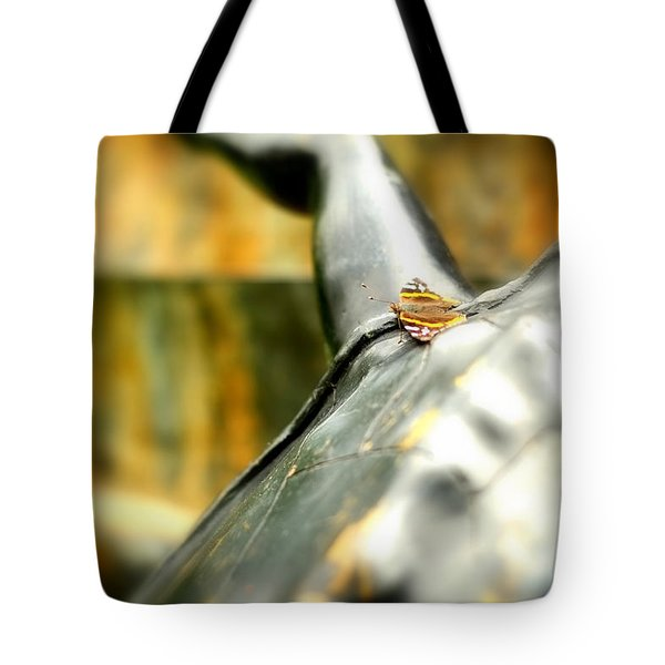 Butterfly Tote Bag by Boris Mordukhayev