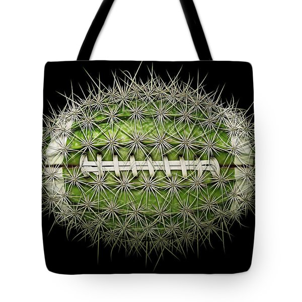 Cactus Football Tote Bag