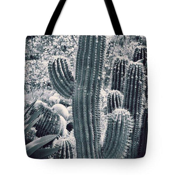 Cactus Land Tote Bag by Kelley King