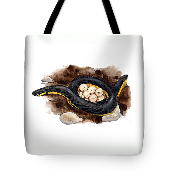 Caecilian Tote Bag by Cindy Hitchcock