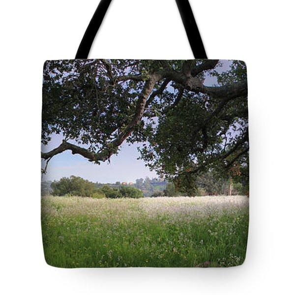 California Landscape Tote Bag by Jan Cipolla