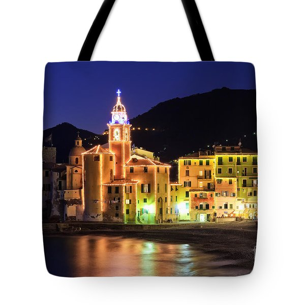 Camogli At Evening Tote Bag