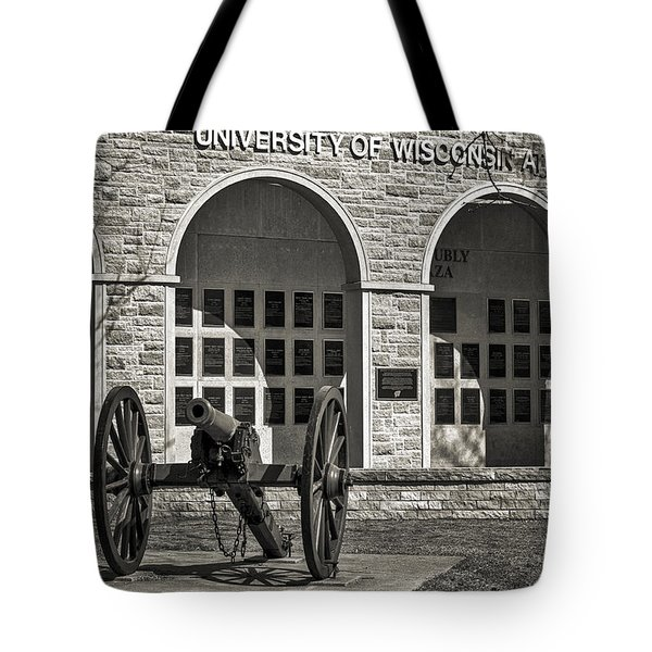 Camp Randall - Madison Tote Bag by Steven Ralser